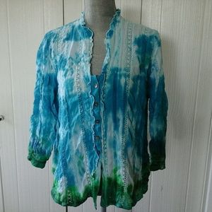 Chico's Women's button front shirt